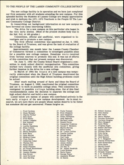 Page 10, 1972 Edition, Lassen Community College - Cougars Tale Yearbook (Susanville, CA) online yearbook collection