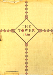 1930 Edition, Central Junior High School - Tower Yearbook (Riverside, CA)