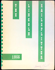 Page 1, 1955 Edition, Lincoln Junior High School - Railsplitter Yearbook (Taft, CA) online yearbook collection