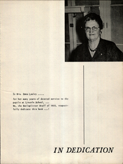Page 5, 1955 Edition, Lincoln Junior High School - Railsplitter Yearbook (Taft, CA) online yearbook collection
