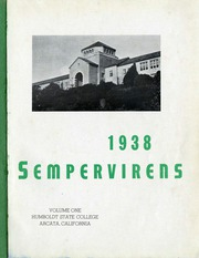 Page 3, 1938 Edition, Humboldt State University - Sempervirens Yearbook (Arcata, CA) online yearbook collection