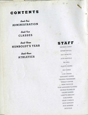Page 6, 1938 Edition, Humboldt State University - Sempervirens Yearbook (Arcata, CA) online yearbook collection