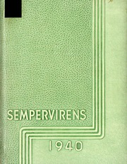 Humboldt State University - Sempervirens Yearbook (Arcata, CA) online yearbook collection, 1940 Edition, Page 1