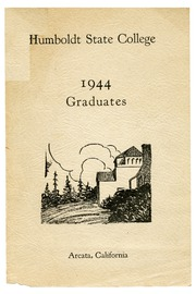 Humboldt State University - Sempervirens Yearbook (Arcata, CA) online yearbook collection, 1944 Edition, Page 1