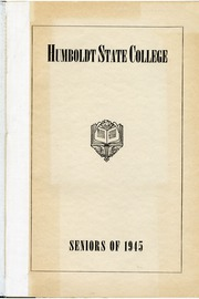 Page 3, 1945 Edition, Humboldt State University - Sempervirens Yearbook (Arcata, CA) online yearbook collection