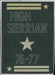 1977 Edition, Sierra Middle School - High Sierrian Yearbook (Bakersfield, CA)