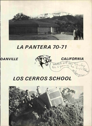 Page 7, 1971 Edition, Los Cerros Middle School - La Pantera Yearbook (Danville, CA) online yearbook collection