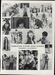Page 7, 1977 Edition, Thornton Junior High School - Thunderbolt Yearbook (Fremont, CA) online yearbook collection
