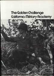 Page 5, 1971 Edition, California Military Academy - Golden Challenge Yearbook (San Luis Obispo, CA) online yearbook collection