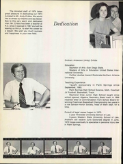 Page 10, 1974 Edition, Raymond Cree Middle School - Amistad Yearbook (Palm Springs, CA) online yearbook collection