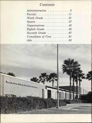 Page 8, 1974 Edition, Raymond Cree Middle School - Amistad Yearbook (Palm Springs, CA) online yearbook collection