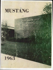 1963 Edition, Mills Middle School - Mustang Yearbook (Rancho Cordova, CA)