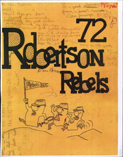 1972 Edition, Robertson Junior High School - Rebel Yearbook (Fremont, CA)
