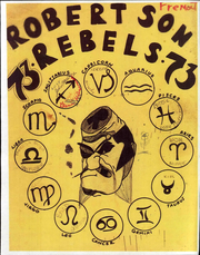 1973 Edition, Robertson Junior High School - Rebel Yearbook (Fremont, CA)