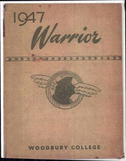 1947 Edition, Woodbury University - Warrior Yearbook (Los Angeles, CA)