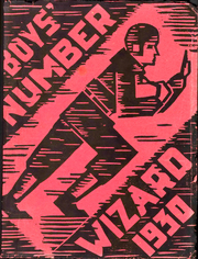 1930 Edition, Burbank Junior High School - Wizard Yearbook (Berkeley, CA)