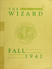 Burbank Junior High School - Wizard Yearbook (Berkeley, CA) online yearbook collection, 1941 Edition, Page 1
