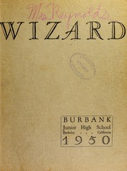 Page 1, 1950 Edition, Burbank Junior High School - Wizard Yearbook (Berkeley, CA) online yearbook collection