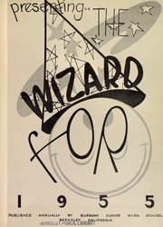 Page 5, 1955 Edition, Burbank Junior High School - Wizard Yearbook (Berkeley, CA) online yearbook collection