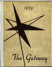 1959 Edition, Simpson Bible College - Gateway Yearbook (San Francisco, CA)