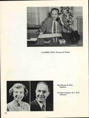 Page 16, 1959 Edition, Simpson Bible College - Gateway Yearbook (San Francisco, CA) online yearbook collection