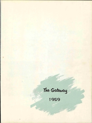 Page 5, 1959 Edition, Simpson Bible College - Gateway Yearbook (San Francisco, CA) online yearbook collection