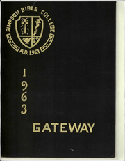 1963 Edition, Simpson Bible College - Gateway Yearbook (San Francisco, CA)