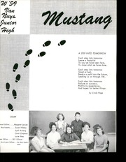 Page 5, 1959 Edition, Van Nuys Junior High School - Mustang Yearbook (Van Nuys, CA) online yearbook collection