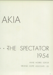Page 7, 1954 Edition, Anoakia School - Spectator Yearbook (Arcadia, CA) online yearbook collection