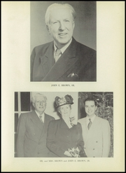 Page 13, 1952 Edition, Brown School for Girls - Cielito Yearbook (Glendora, CA) online yearbook collection