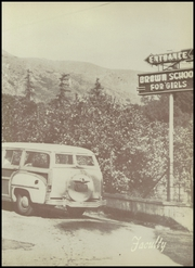 Page 17, 1952 Edition, Brown School for Girls - Cielito Yearbook (Glendora, CA) online yearbook collection