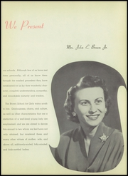 Page 9, 1953 Edition, Brown School for Girls - Cielito Yearbook (Glendora, CA) online yearbook collection
