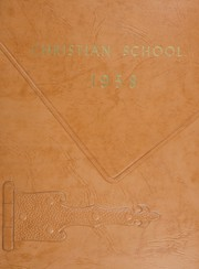 1958 Edition, Inglewood Christian School - Yearbook (Inglewood, CA)