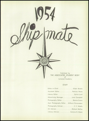 Page 5, 1954 Edition, Lynwood Academy - Shipmate Yearbook (Lynwood, CA) online yearbook collection