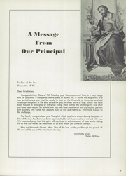 Page 9, 1955 Edition, Star of the Sea Academy - Stella Maris Yearbook (San Francisco, CA) online yearbook collection