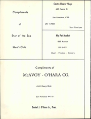 Star of the Sea Academy - Stella Maris Yearbook (San Francisco, CA) online yearbook collection, 1966 Edition, Page 122