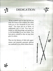 Page 9, 1966 Edition, Star of the Sea Academy - Stella Maris Yearbook (San Francisco, CA) online yearbook collection