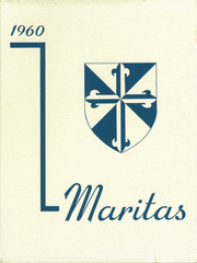 1960 Edition, St Francis de Sales High School - Maritas Yearbook (Riverside, CA)