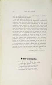 Page 14, 1919 Edition, St Ignatius College - Ignatian Yearbook (San Francisco, CA) online yearbook collection