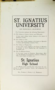 Page 4, 1919 Edition, St Ignatius College - Ignatian Yearbook (San Francisco, CA) online yearbook collection