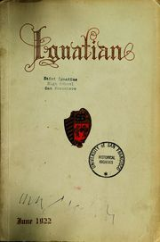 Page 1, 1922 Edition, St Ignatius College - Ignatian Yearbook (San Francisco, CA) online yearbook collection