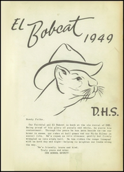 Page 5, 1949 Edition, Dimmitt High School - Bobcat Yearbook (Dimmitt, TX) online yearbook collection