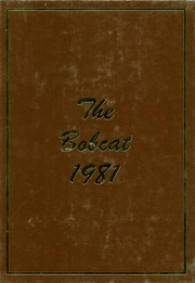 Page 1, 1981 Edition, Dimmitt High School - Bobcat Yearbook (Dimmitt, TX) online yearbook collection