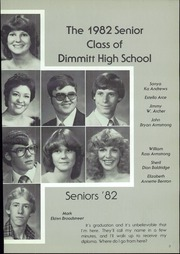 Page 7, 1982 Edition, Dimmitt High School - Bobcat Yearbook (Dimmitt, TX) online yearbook collection