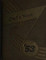 Page 1, 1953 Edition, Garland High School - Owls Nest Yearbook (Garland, TX) online yearbook collection
