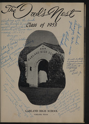 Page 5, 1953 Edition, Garland High School - Owls Nest Yearbook (Garland, TX) online yearbook collection