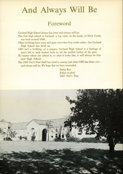 Page 7, 1967 Edition, Garland High School - Owls Nest Yearbook (Garland, TX) online yearbook collection
