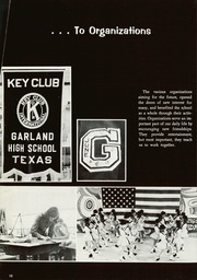 Page 14, 1969 Edition, Garland High School - Owls Nest Yearbook (Garland, TX) online yearbook collection