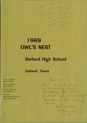 Page 5, 1969 Edition, Garland High School - Owls Nest Yearbook (Garland, TX) online yearbook collection
