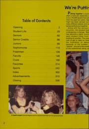 Page 6, 1980 Edition, Garland High School - Owls Nest Yearbook (Garland, TX) online yearbook collection